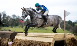 Veterinary & Agriculture Photography - Getting some air between the Fence at Alden International Horse Trials
